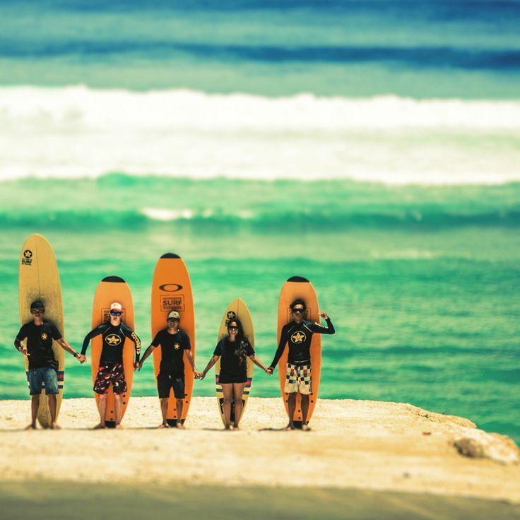 #surf #friends #bali #odysseysurfschool