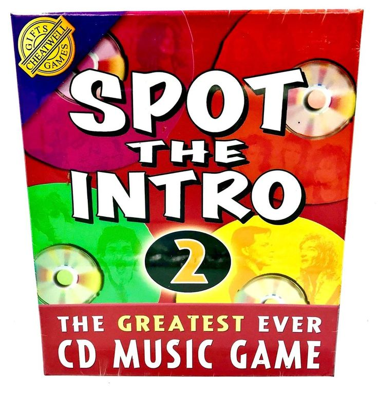 SPOT THE INTRO 2 CHEATWELL GAMES GIFT PRESENT 🎁 NEW & SEALED AUDIO CD ROCK POP