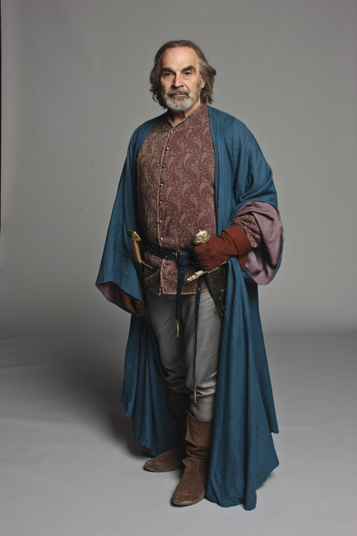 The Hollow Crown, Richard II. David Suchet as York
