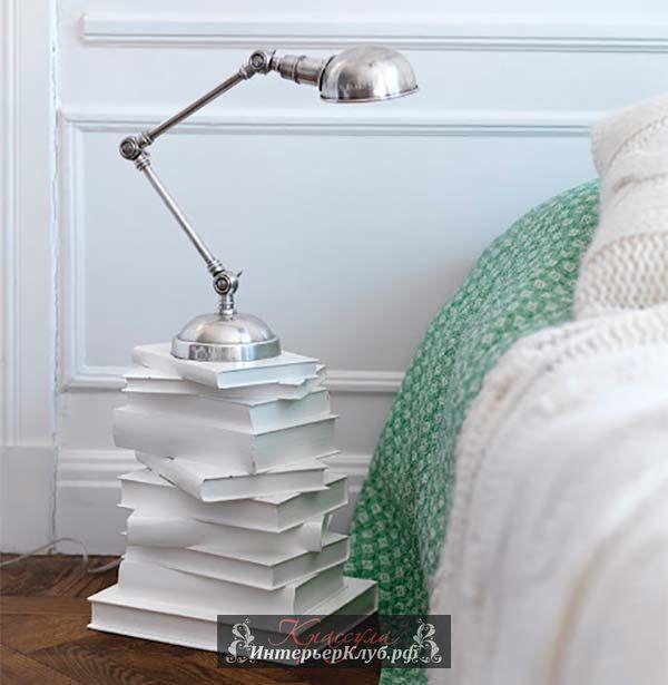 Декор из книг, декор из старых книг, декор из книг своими руками, идеи для книг в интерьере