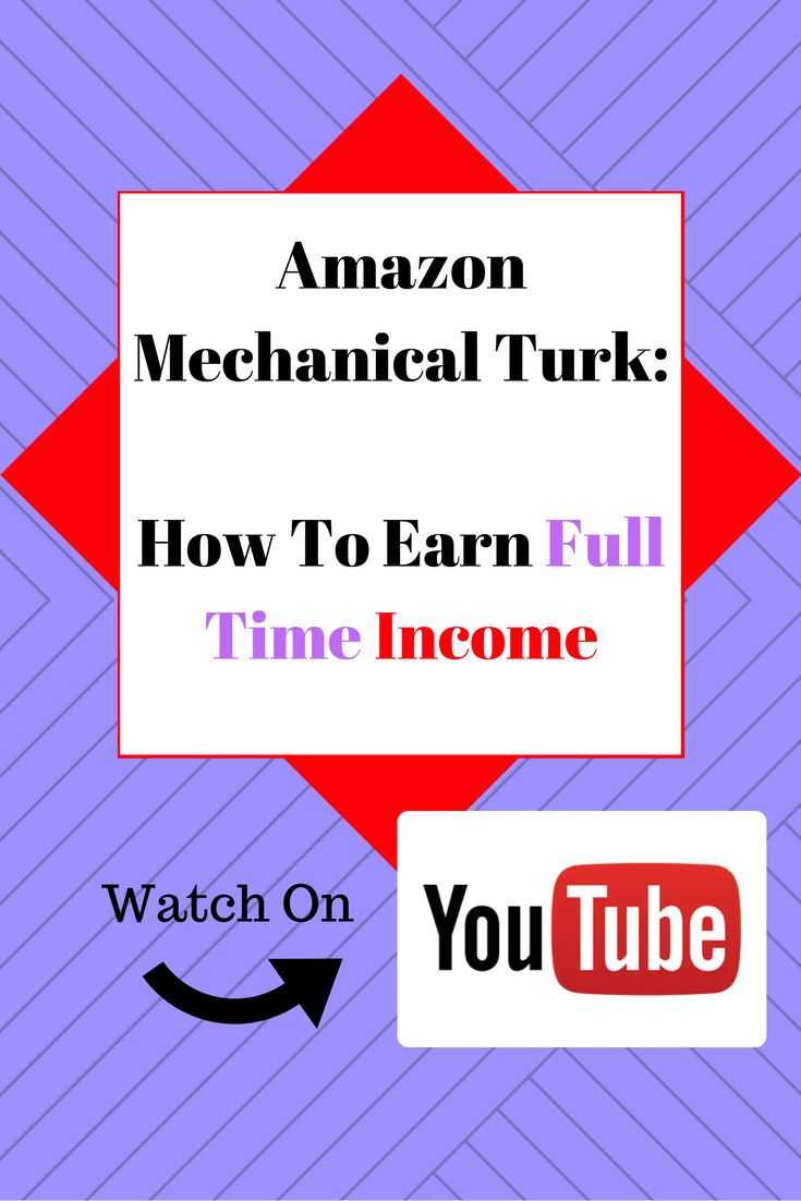 Still not sure how to really earn money on YouTube? Are you a visually learner? Watch our video series on how to earn full time income on Amazon Mechanical Turk (mTurk)
