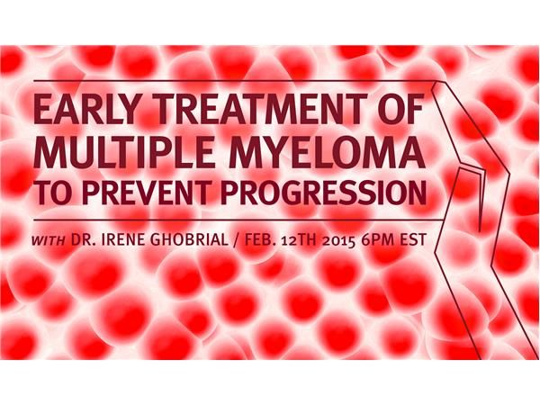 Stopping myeloma before it even gets started! Lot of work is being done in this preventative approach and Dr. Irene Ghobrial of Dana Farber Cancer Institute will be talking to us about the new strategies to help MGUS and smoldering patients. In contrast to the watch and wait approach practised by doctors for patients where disease progression is not easily discernable, this new approach to understand the patients condition and treat early may prove to be life saving. Dr. Ghobrial is an…