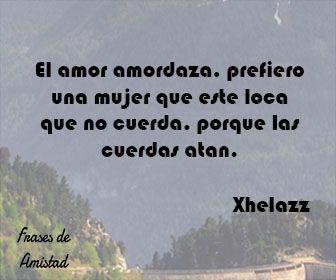 Frases de amor de rap de Xhelazz