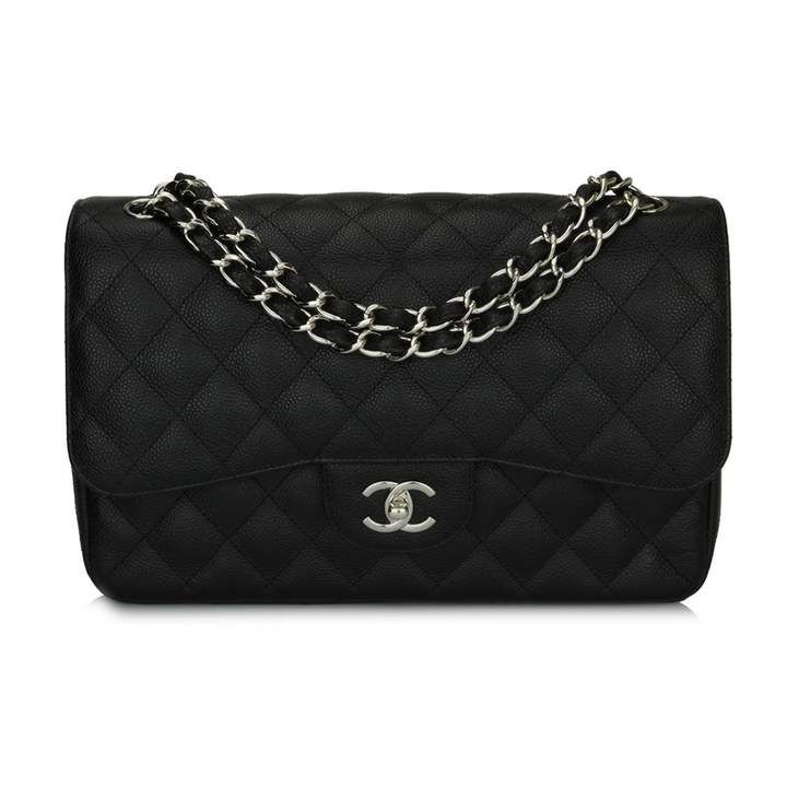 Chanel Timeless Classique Black Leather Handbag Black Leather Handbags Chanel Handbags Chanel