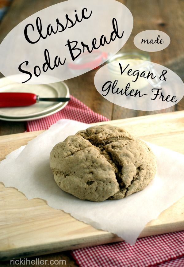 Wow! candida diet, vegan, gluten-free soda bread recipe by @rickiheller