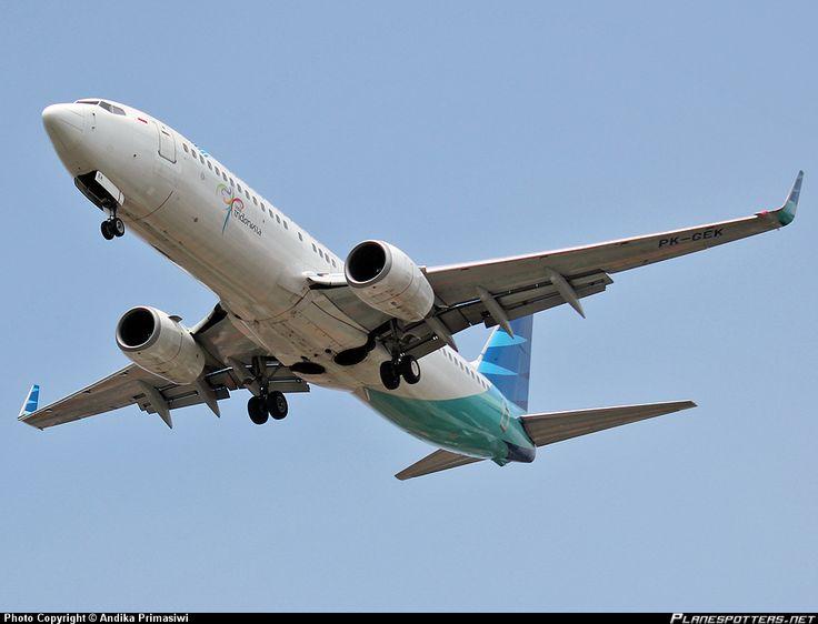 PK-GEK Garuda Indonesia Boeing 737-85F(WL)