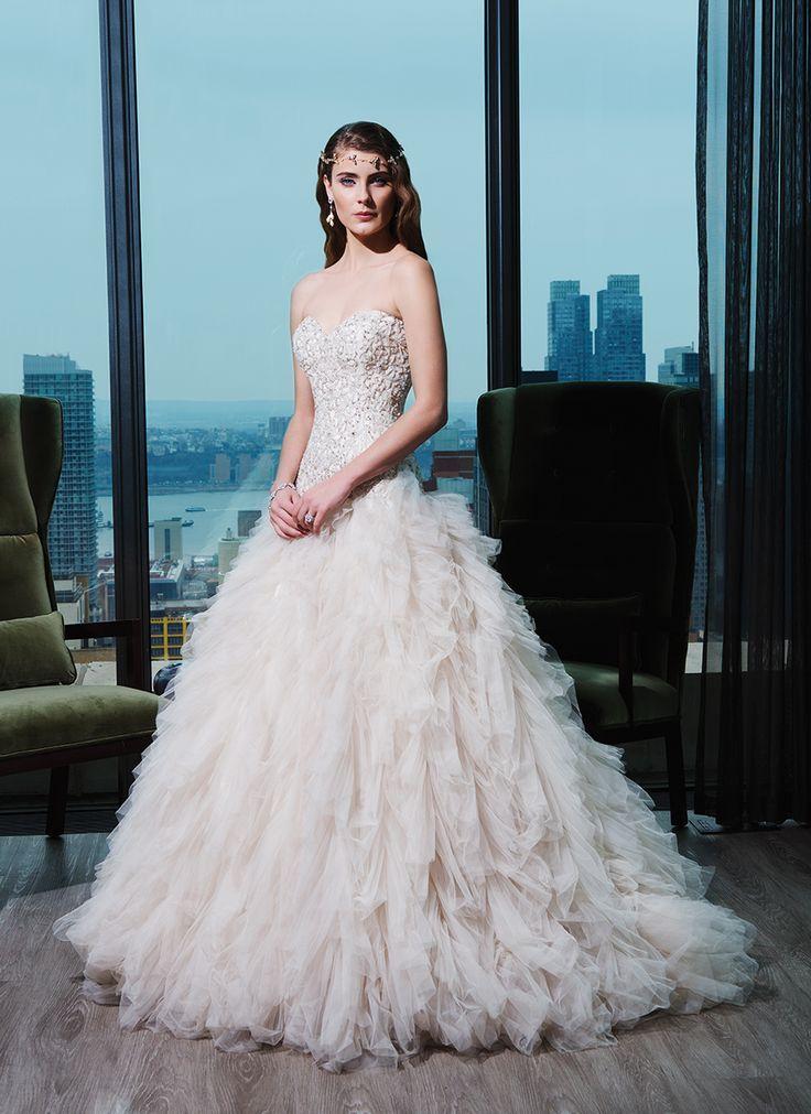 17 best JUSTIN ALEXANDER BRIDAL images on Pinterest   Wedding frocks ...
