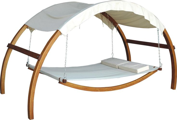 outdoor bed for hot summer nights (just throw a mosquito net over