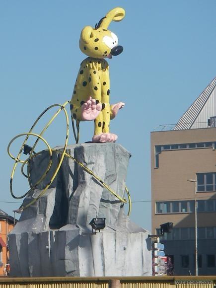 Le Marsipulami. Charleroi capitale de la BD.