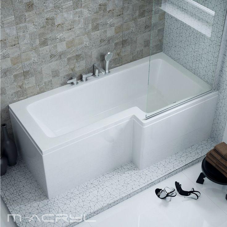 Ön zuhanyozni szeret, párja viszont fürdeni? Éppen ezért sokak kedvence a Linea, mert nemcsak kád, hanem zuhanyzó is. Ez a kád megadja a választás szabadságát. #linea #lineamacrylkad #macrylkád #macryl #macrylkád #macrylkádak #akrilkád #fürdés #fürdőszoba #relax #kikapcsolódás #lakberendezés #inspiráció #belsőépítészet #minőség #design #health #bathroom #interiordesign