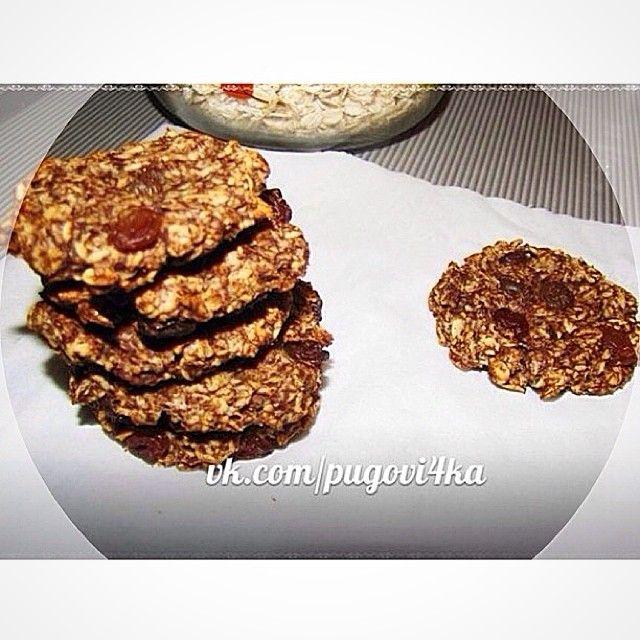 «Шоколадное печенье на завтрак Всем вкусного утра и продуктивного понедельника --------------------------------------- Потребуется: ♦️овсяные…»