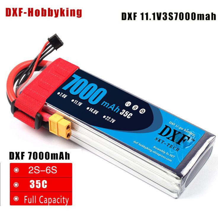 2017 DXF LiPoly Battery 11.1V 7000mAh 35C MAX100C 3S RC