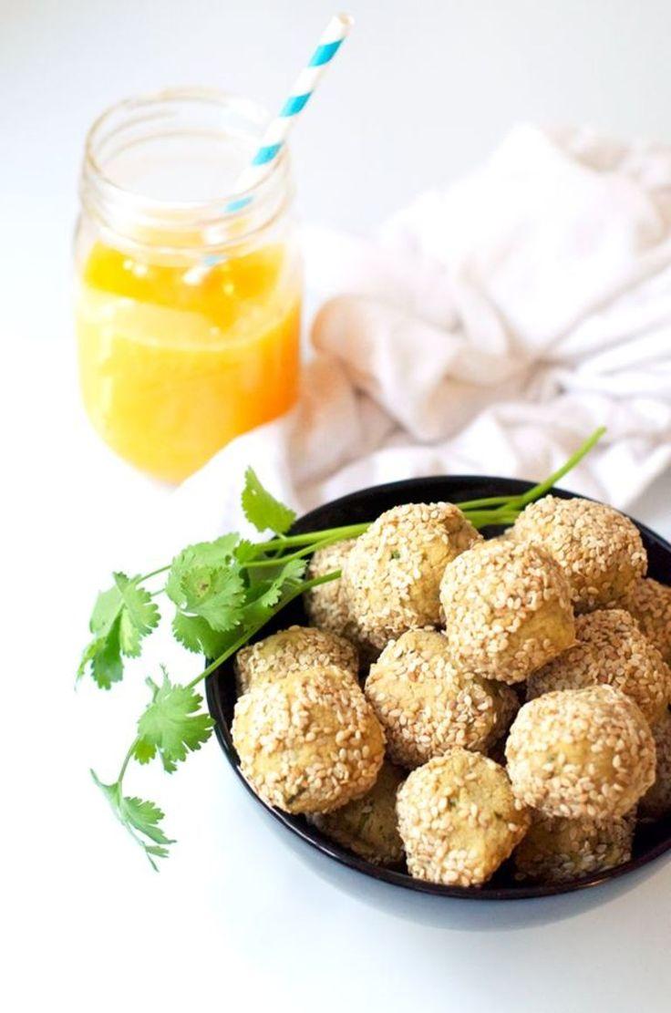 Falafels healthy sans matière grasses Poids chiches et graines de sésame  Au four   #vegan #glutenfree www.sweetandsour.fr #recipe #recette