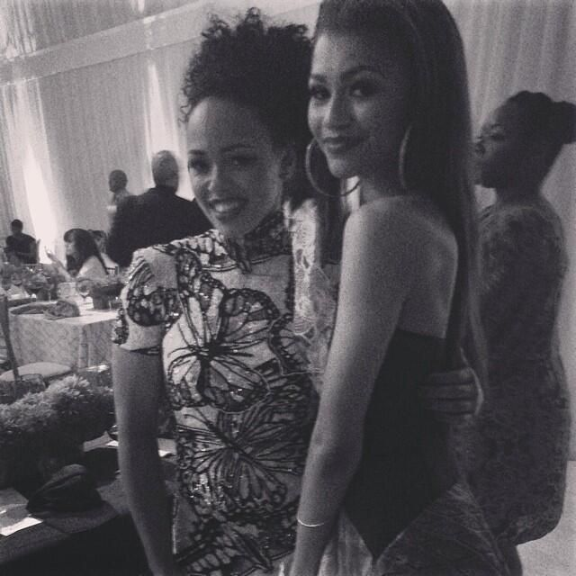 ellevarner: You and your Dad remind me of me and mine ❤️ zendaya #daddysgirls http://