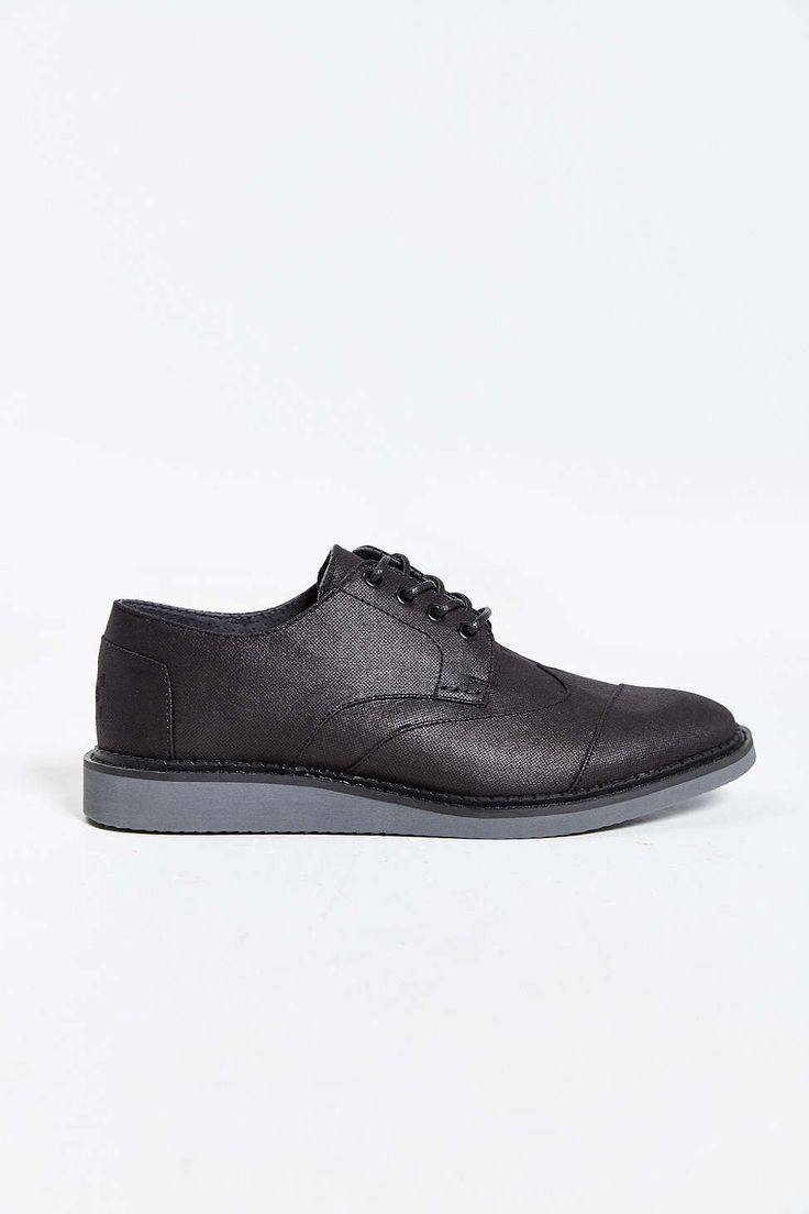 TOMS Coated Canvas Wingtip Shoe