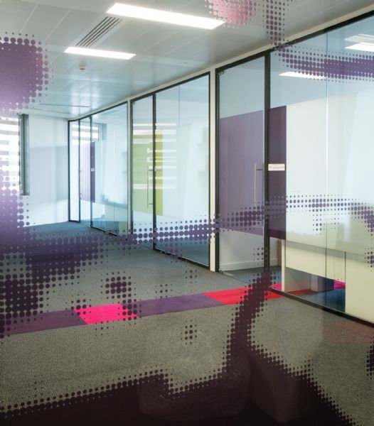 Glass Partitioning At UK Law Firm Burges Salmon Headquarters In Bristol A Design Fit Out By Interaction That Would Underpin The Firms Collaborative