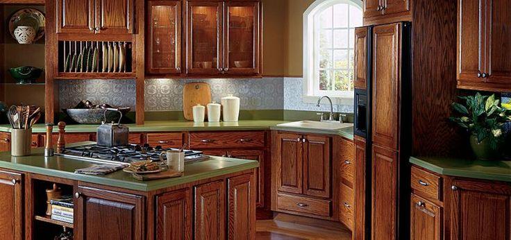 1000 Images About Backsplash Ideas For Kitchen On Pinterest Oak Cabinets Kitchen Backsplash