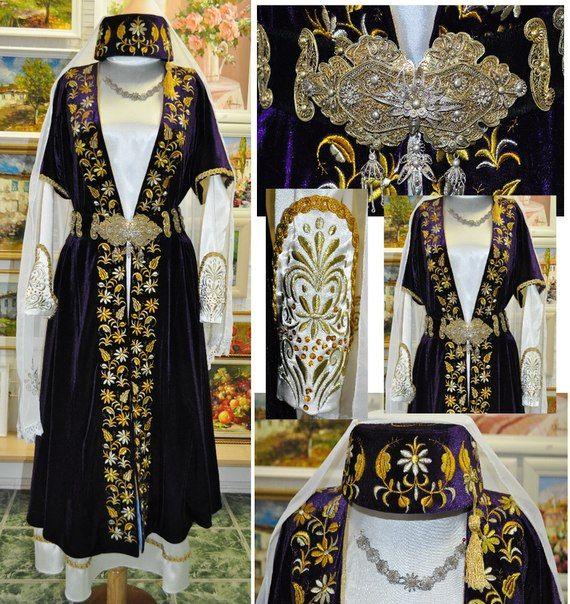 national costume of crimean tatars