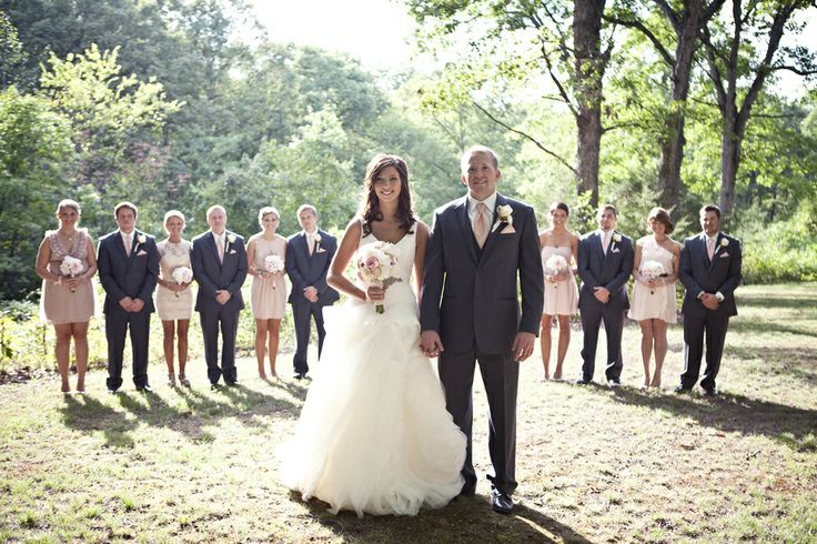 Country Rustic Wedding Party