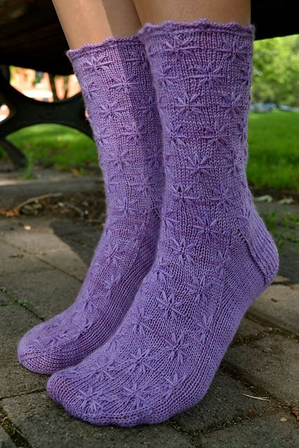 Ravelry: Lilac Socks pattern by Margaret Sullivan