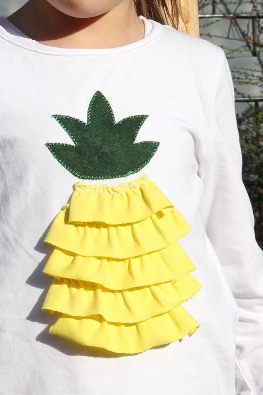 Rapantinchen´s DIY - {Pimp my Shirt: Jetzt wird´s fruchtig}