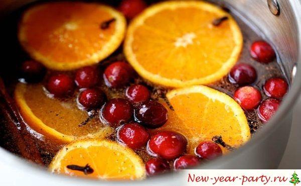 Рецепт Новогоднего напитка с фото