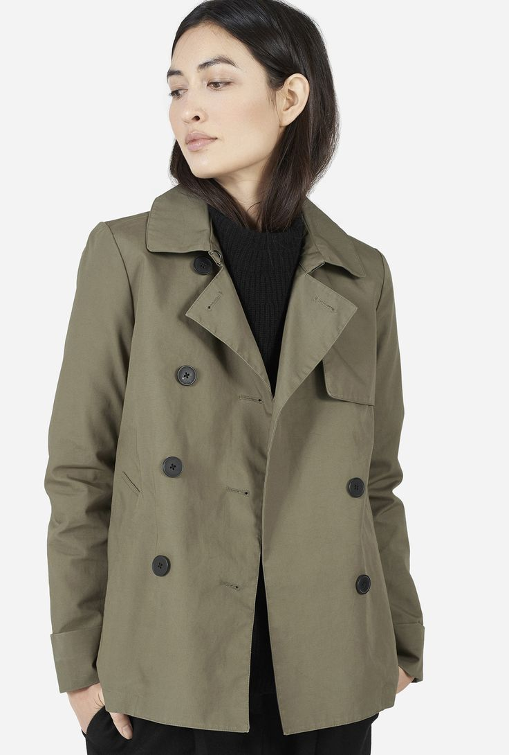 The Swing Trench from Everlane