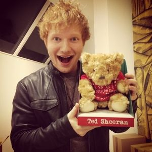 All About That Time Ed Sheeran Fell in Love With a Bean Bag Chair | Cambio . . . Ed Sheeran + TED = TED Sheeran