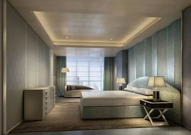 17 best images about bed room on pinterest shenzhen upholstered walls and armani hotel - Delicate apartment interior design with pale hues and movable walls ...