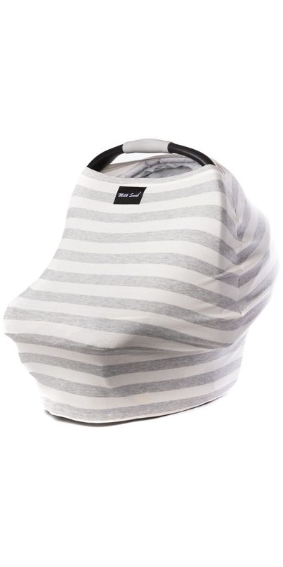 The original Milk Snob® Cover is a fitted infant car seat cover that can also be used as a nur