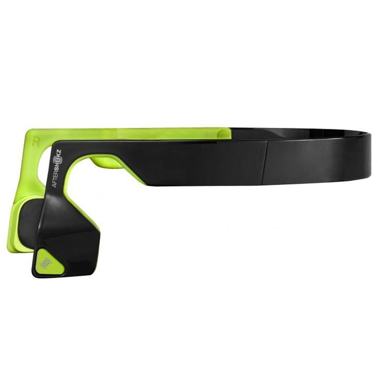 Aftershokz Bluez 2S Wireless Headphones - Black/Green | Original Sports