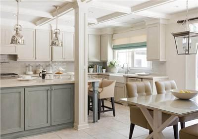 Light Traditional Kitchen by Tobi Fairley: Interior Design, Kitchens, Color, Kitchen Design, Kitchen Ideas
