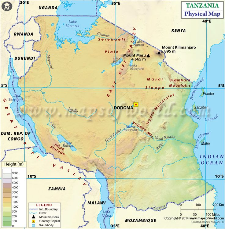 7 best GIS PROJECT images on Pinterest | Tanzania, Location map
