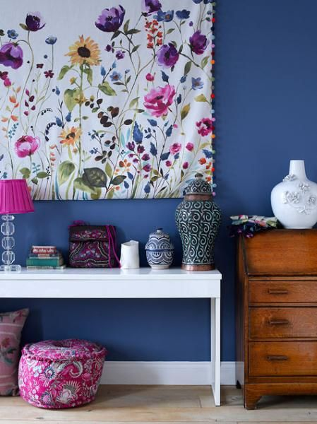 Pitch Blue, Farrow and Ball. fiona douglas of bluebellgray My Home Remodeling