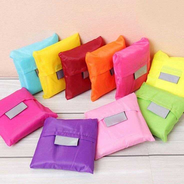 2017 Creative Foldable Environmental Protection Shopping Bag Small Useful Travel Multifunction Women Casual FreeShipping N627