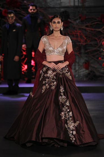 Manish Malhotra. AICW 15'. Indian Couture. More