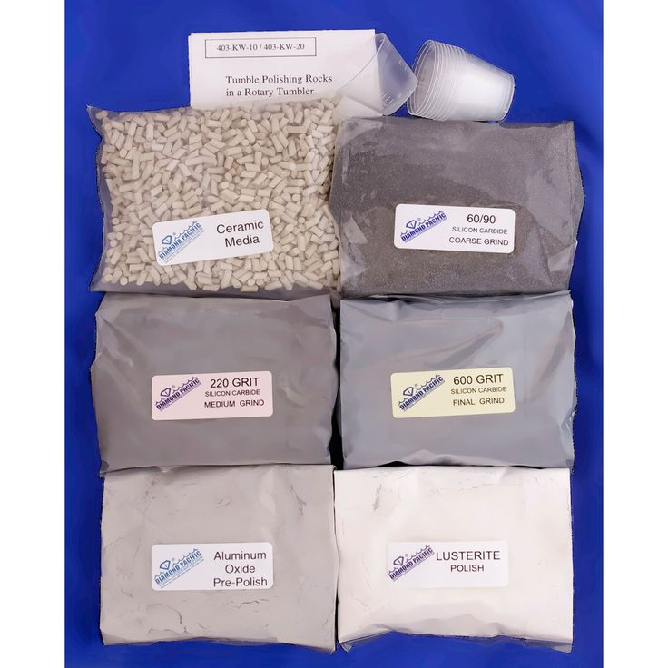 Wet Kits for Rotary or Vibratory Tumblers - 403-KW-10