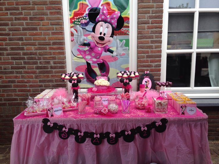 Minnie mouse sweettable
