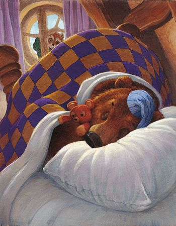 Good night, Bear - Scott Gustafson
