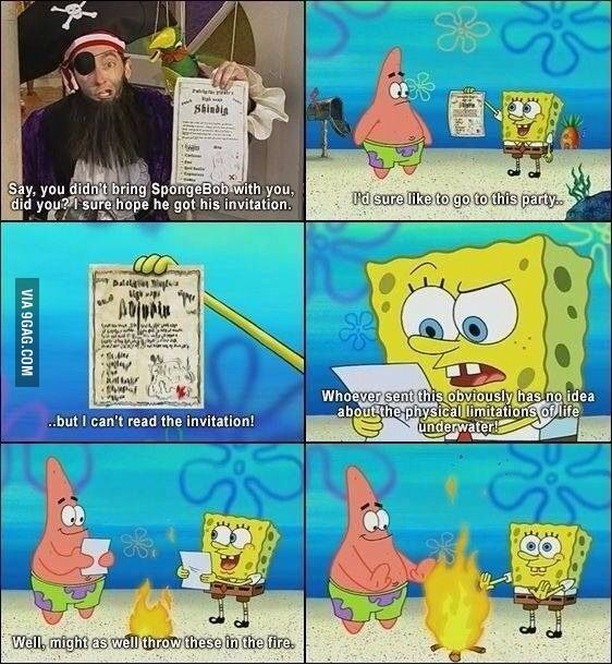 Just when you think it was getting normal...  Spongebob  Nickelodeon
