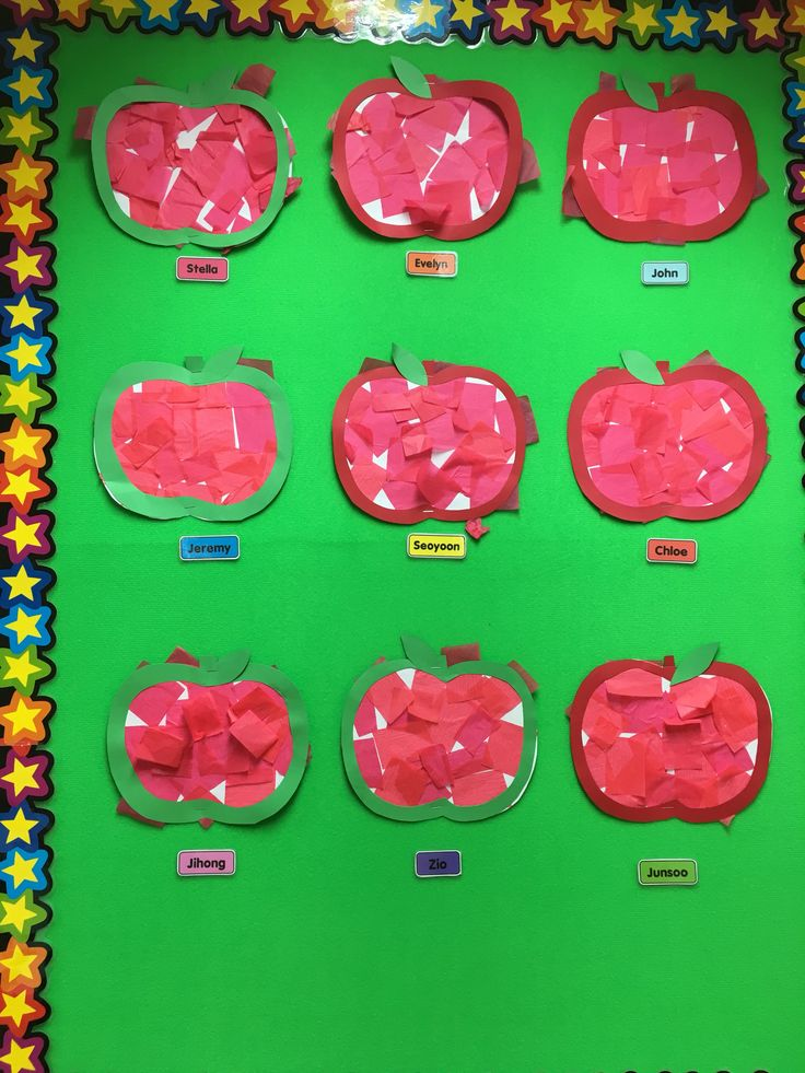 This project is super simple and great fun for little fingers!    You will need: Red tissue paper  Red construction paper (for the rim) White A4 paper Green A4 paper (for the l…