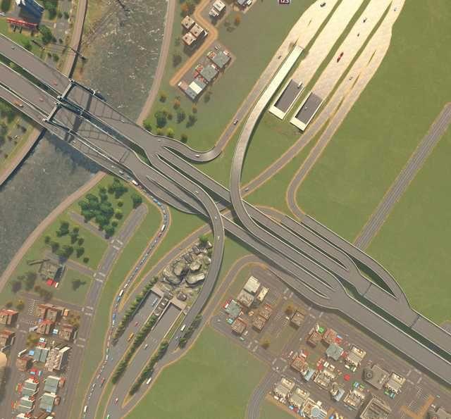 Interchanges Imgur City Skylines Game City Layout City Design