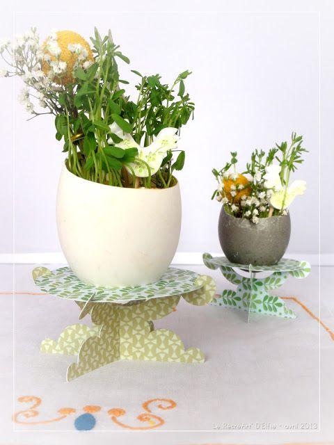 Décoration florale pour Pâques // Decoration plants for Easter
