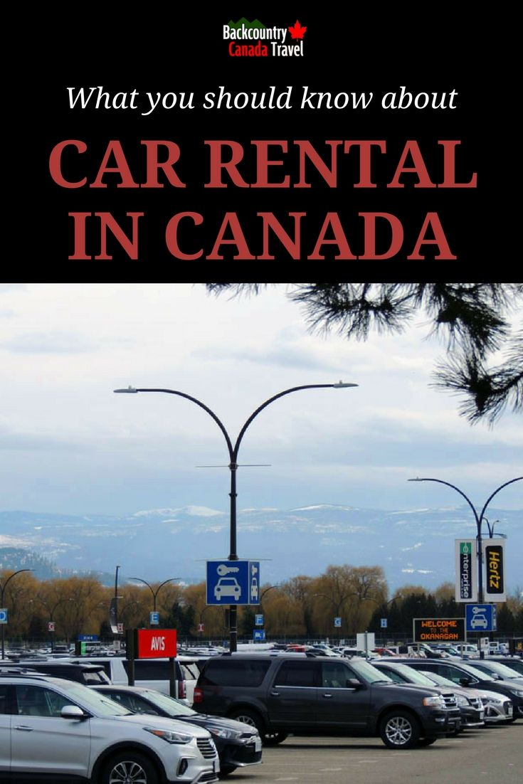 Canada is the land of driving and big cars, but the car rental prices will shock you. When you fly into Canada you don't have many choices. A car is often the only way to reach the spectacular destinations for which Canada is famous for.
