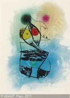 Le Scorpion Joufflu, Joan Miró - 1978