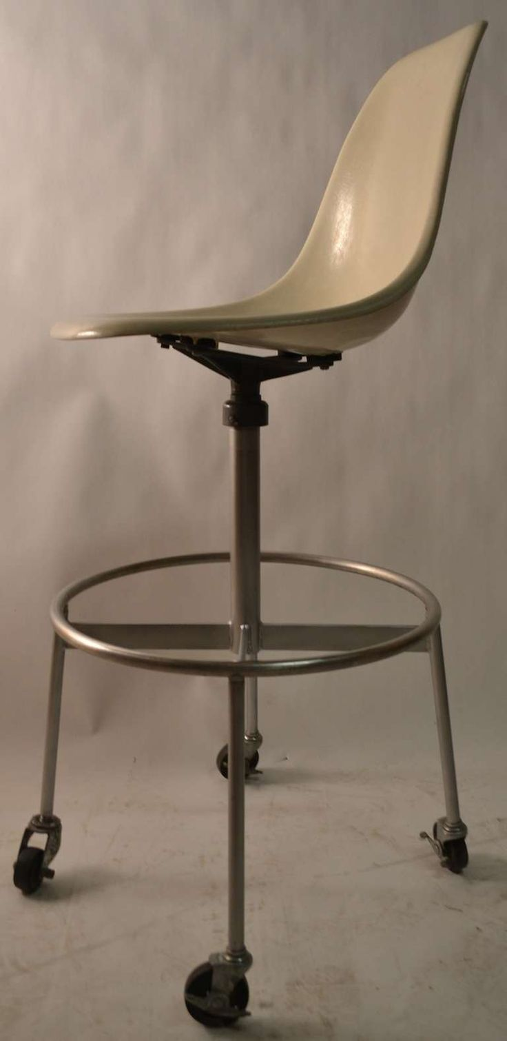 Eames Herman Miller Drafting Stool | From a unique collection of antique and modern stools at https://www.1stdibs.com/furniture/seating/stools/