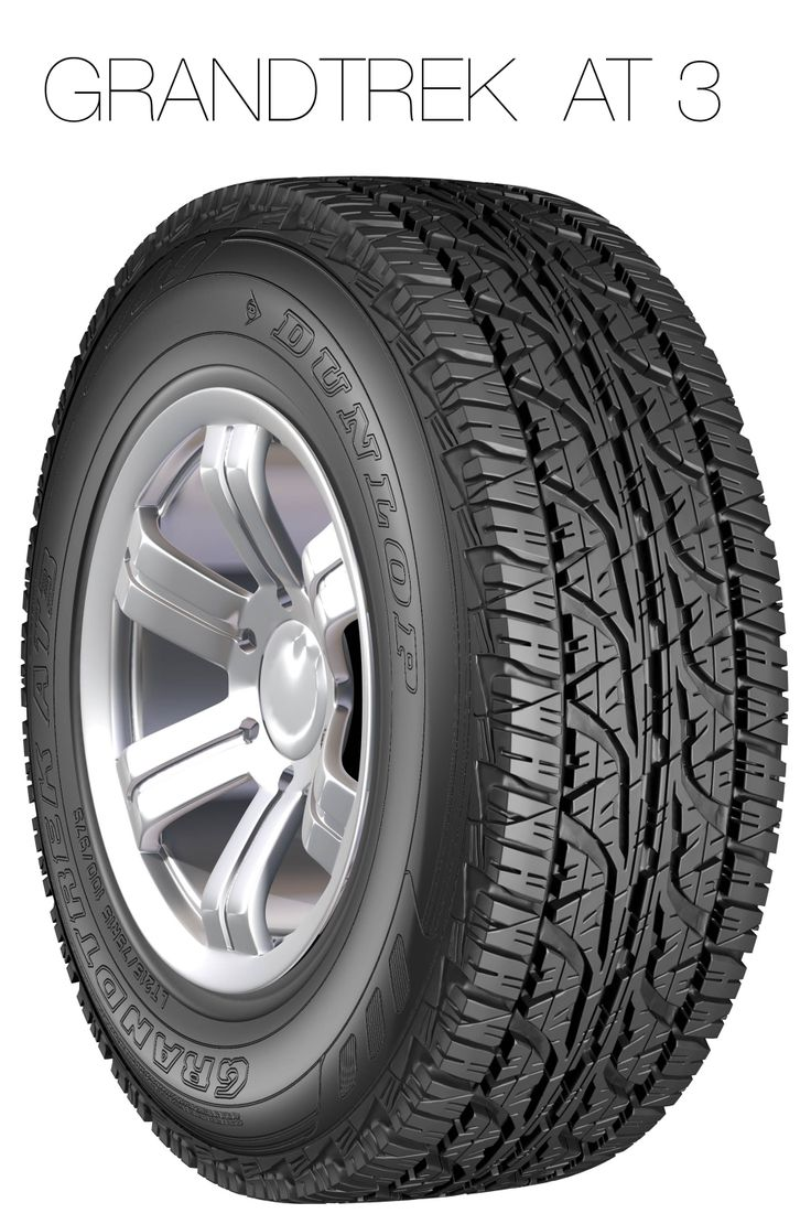 Developed for outstanding on- and off-road performance, this tyre gives you the best of both worlds. Enjoy high-speed stability and impressive off-road traction in tough conditions. The Grandtrek AT 3 features lower noise generation for a quieter, more comfortable ride.