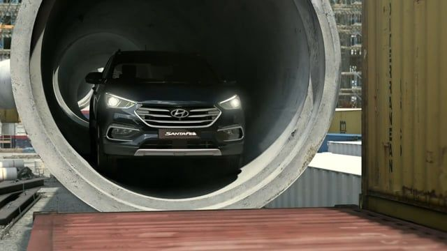 """Hyundai TV Commercial for the new Santa Fe 2015 """"One day at construction site""""  https://vimeo.com/144965359    Production year : 2015  Play the part : Main layout / Lighting / Rendering / CAR / Precomp  3D Tool : boujou, maya, v-ray for maya,   2D precomp : nuke  Official website youtube.com/watch?feature=player_detailpage&v=44CwmeETbYI"""