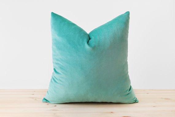 Easily introduce new textures and colors to a room with this cotton velvet pillow. These pillow covers have the same fabric on both sides for a cohesive