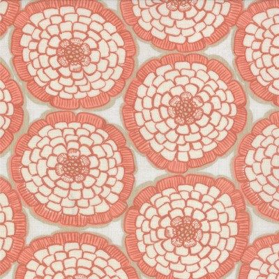 Modern Roses - English Miss in Ginger (7182 13) // Juberry Fabrics